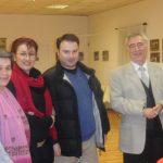 With Angeliki Christofilopoulou, Marina Christofaki, Stergios Theocharidis